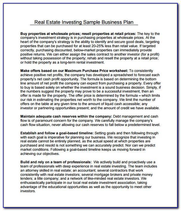 Real Estate Investor Website Templates Free