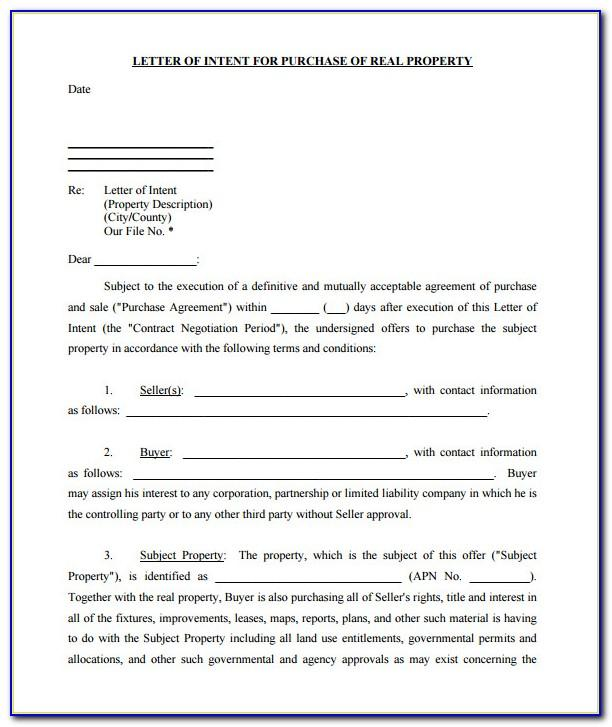 Real Estate Lease Documents