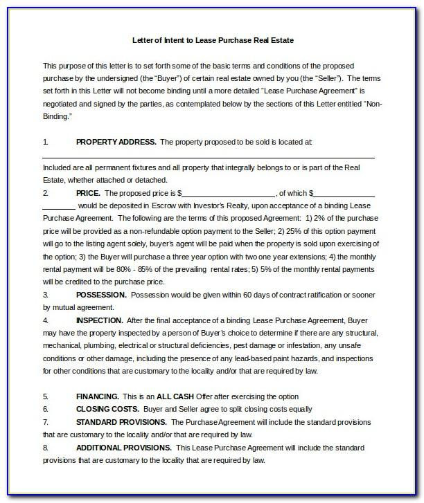 Real Estate Letter Templates Free