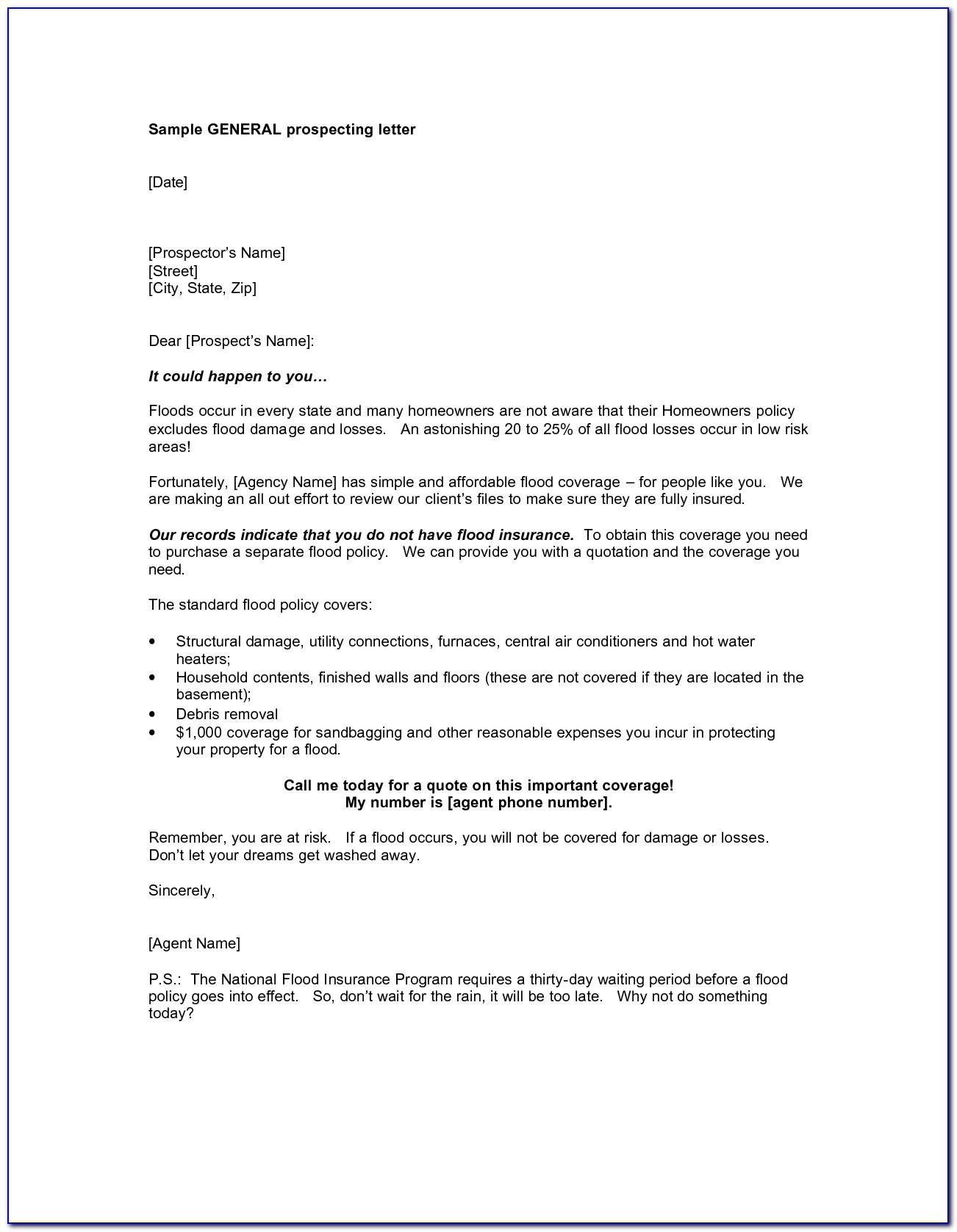 Real Estate Letterhead Sample