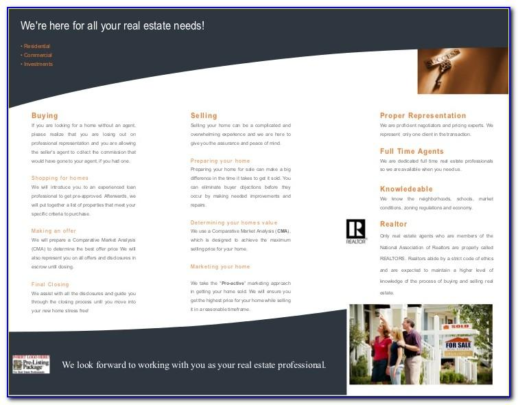 Real Estate Listing Fact Sheet Template