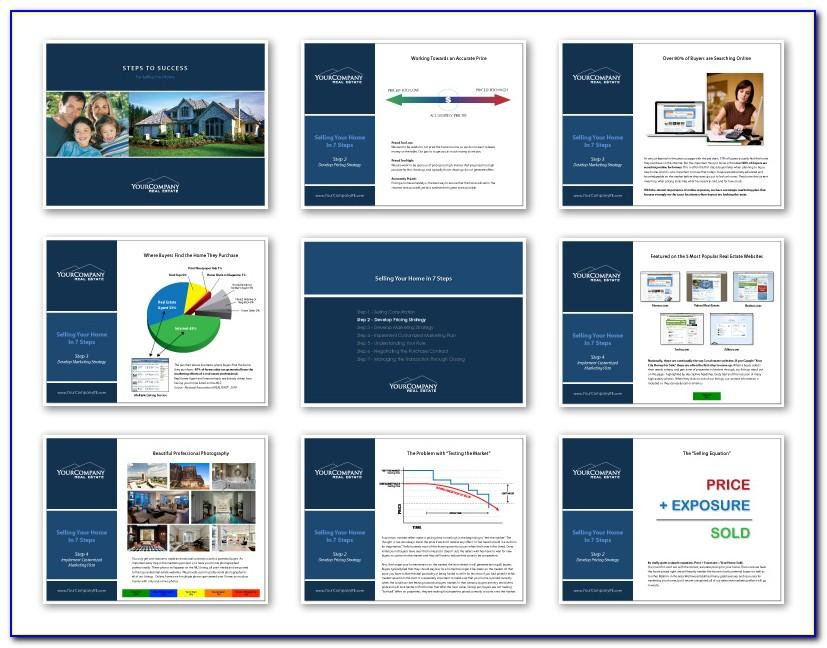 Real Estate Listing Presentation Template Free