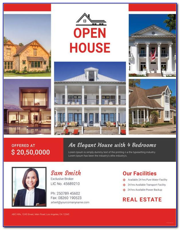 Real Estate Open House Invitation Sample