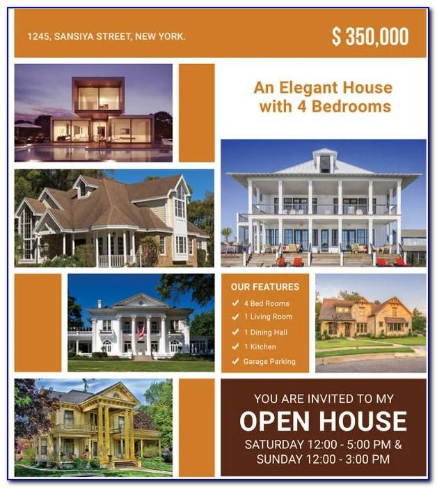 Real Estate Open House Invitation Template Free