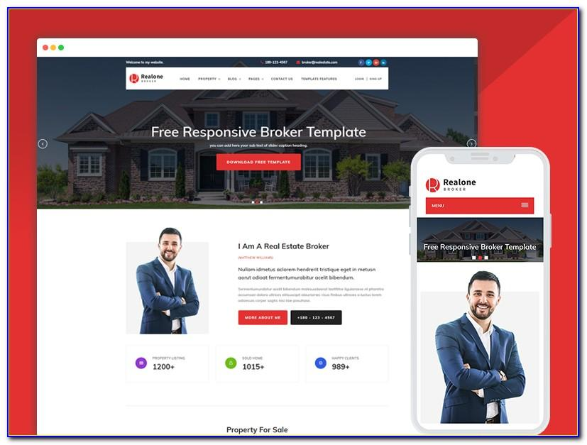 Real Estate Responsive Html Template