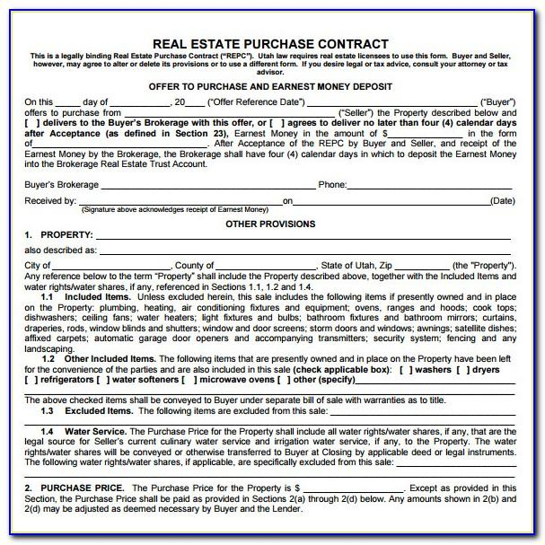 Real Estate Sale Contract Form Qld