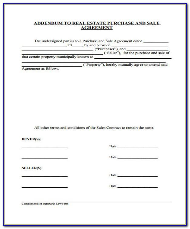 Real Estate Sales Commission Agreement Template