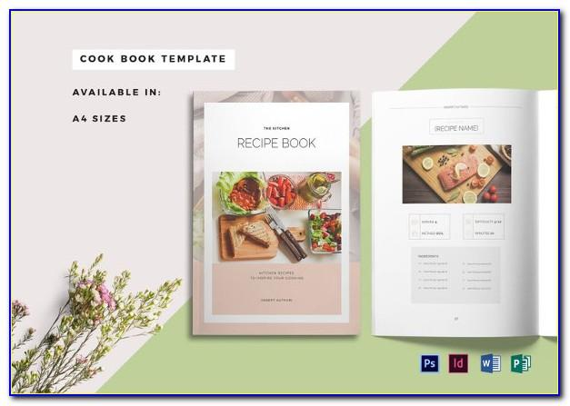 Recipe Scrapbook Templates Free