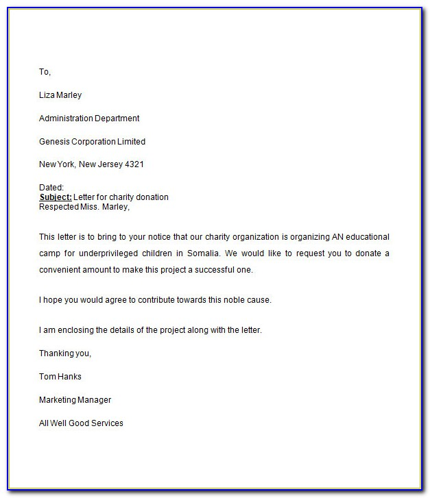 Request For Proposal Template Free Download