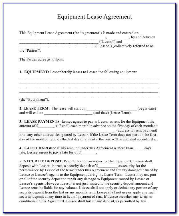 Residential Lease Agreement Template Ireland