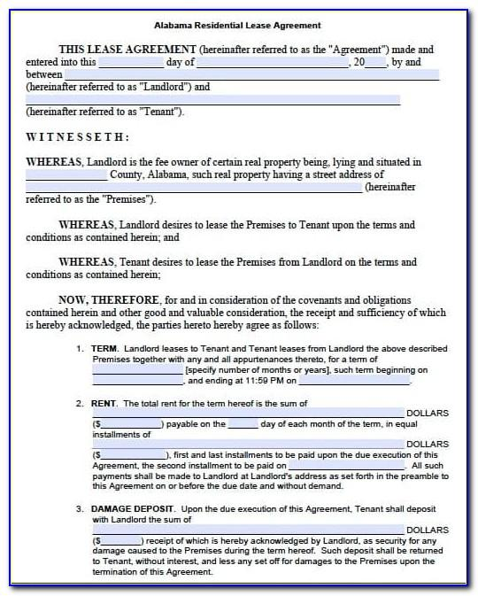 Residential Lease Proposal Template
