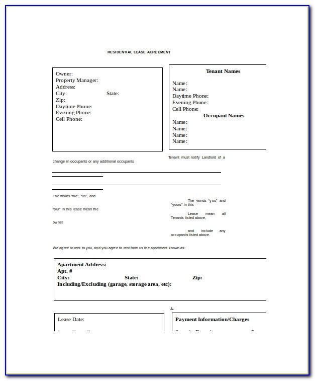 Residential Property Management Policies And Procedures Template