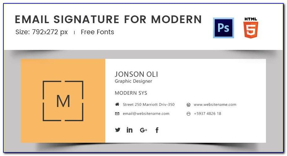 Responsive Email Template Outlook 2010