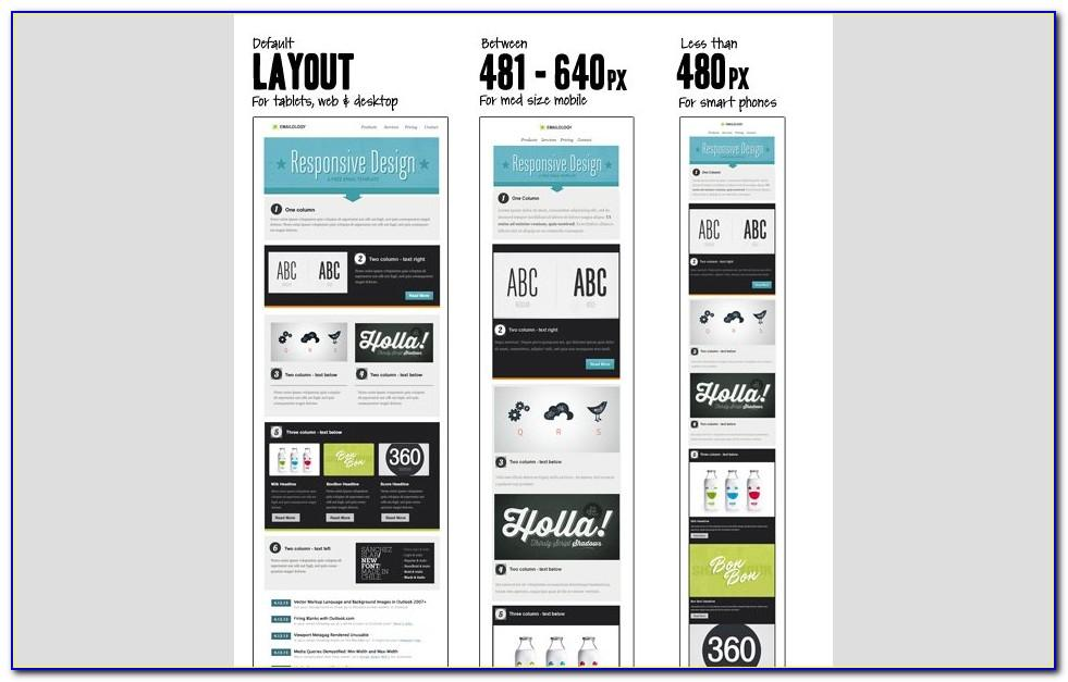 Responsive Html Email Newsletter Template