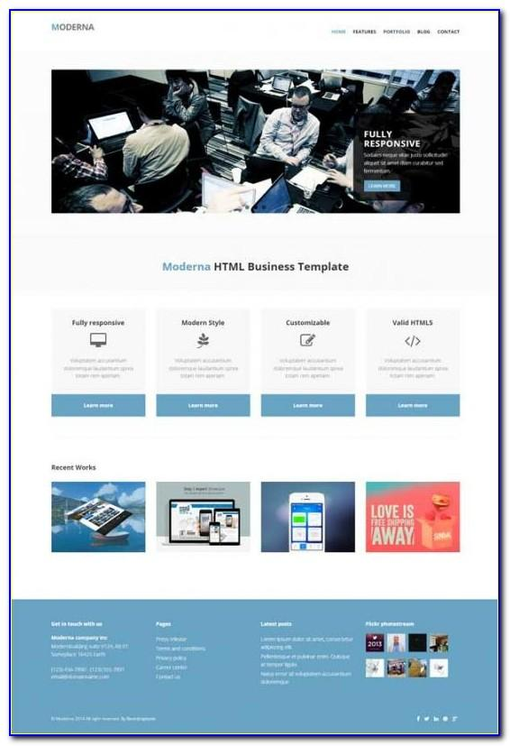 Responsive Html Email Signature Template Free