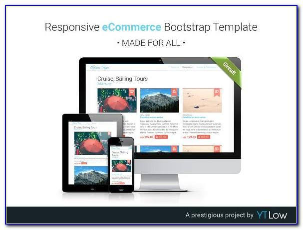 Responsive Web Design Wireframe Template
