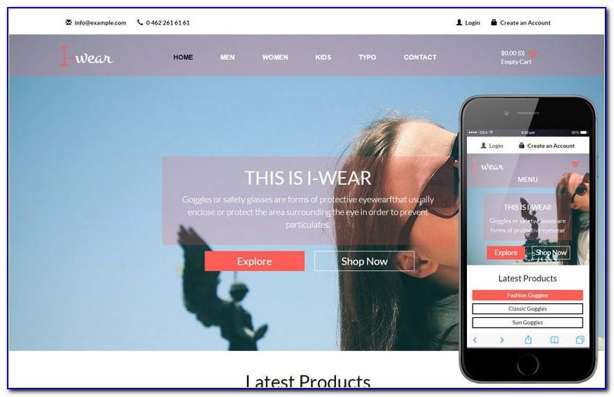 Responsive Web Templates Html5 Free Download