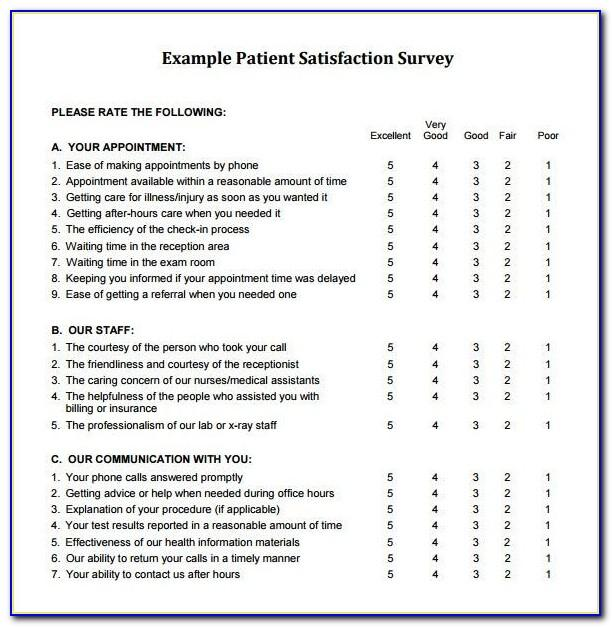 Restaurant Customer Satisfaction Survey Examples Pdf