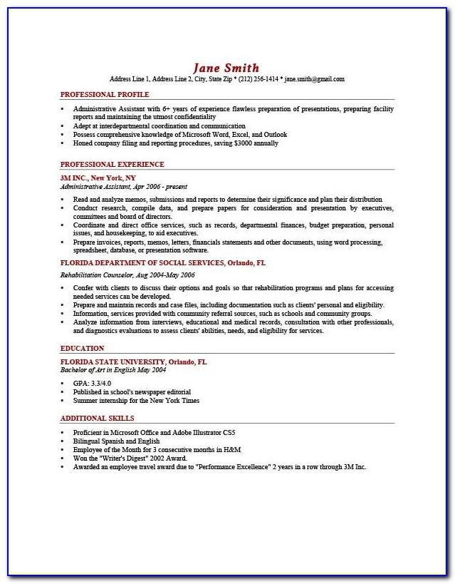 Resume And Cover Letter Template Word Free