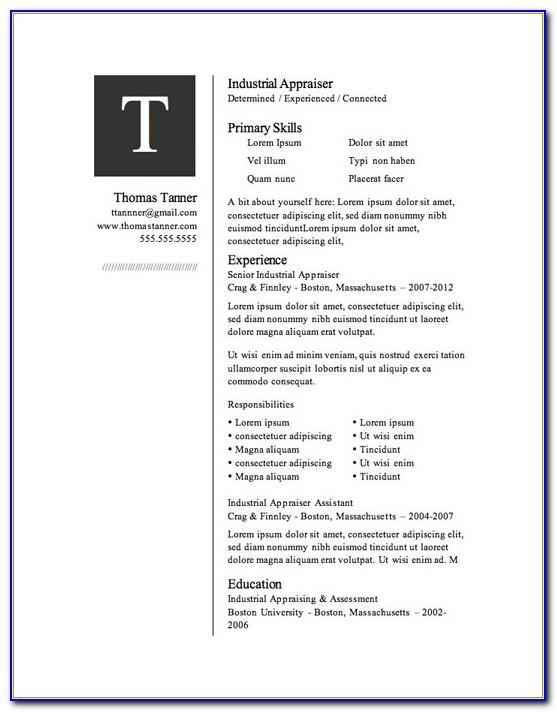 Resume Design Templates Downloadable Word