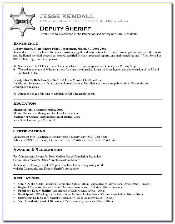 Resume Example For Law Firm