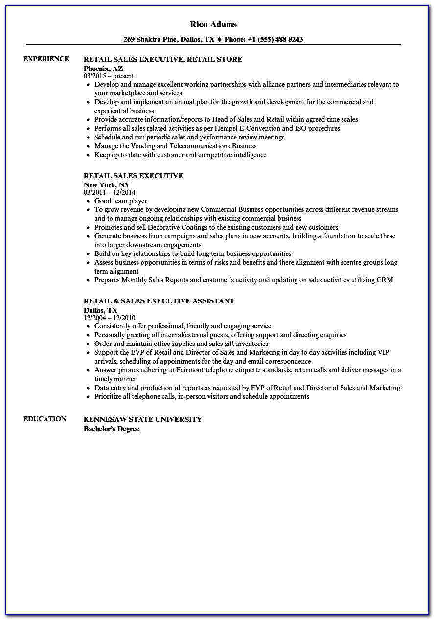 Resume Examples For Administrative Assistants