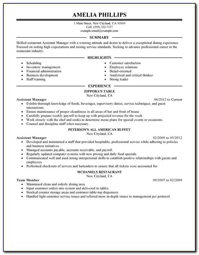Resume Examples For Pharmacist Assistant