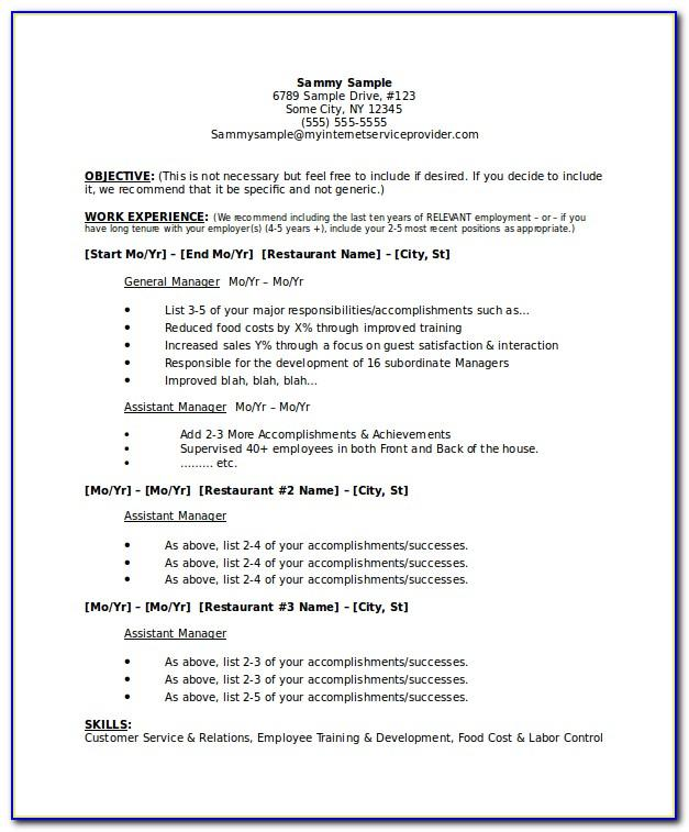 Resume Examples Pharmacy Technician
