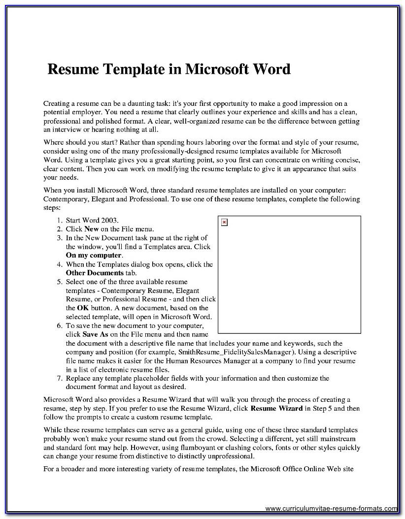 Resume Examples With No Experience For Students