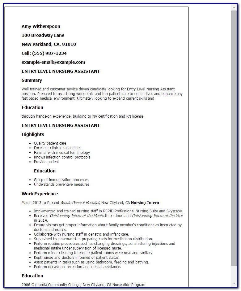 Resume Format Bio Data