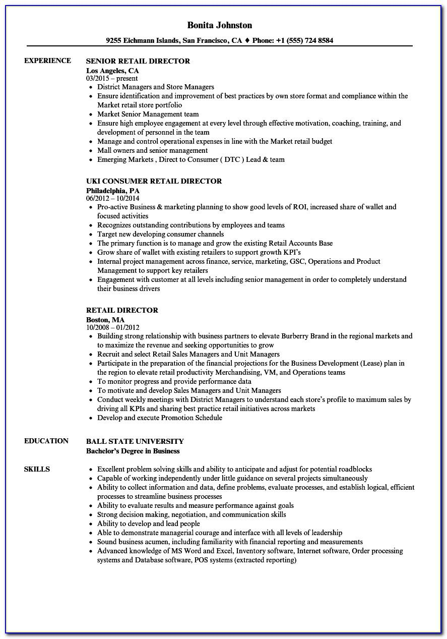 Resume Format For Nurses Free Download