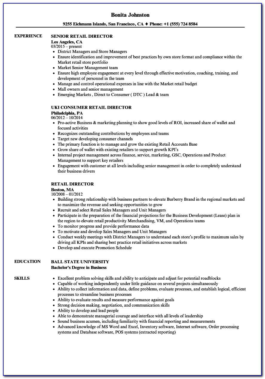 Resume Format For Nurses Free Download