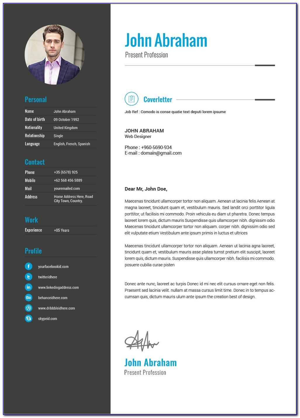 Resume Format Free Download Doc