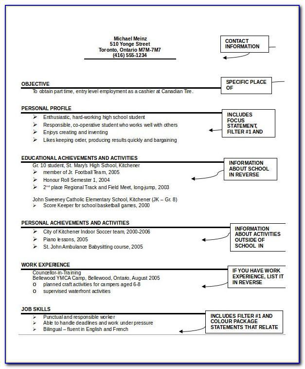 Resume Format Free Download Pdf File
