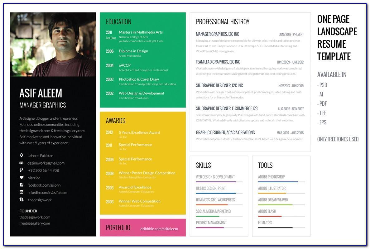 Resume Format Pdf Download Free