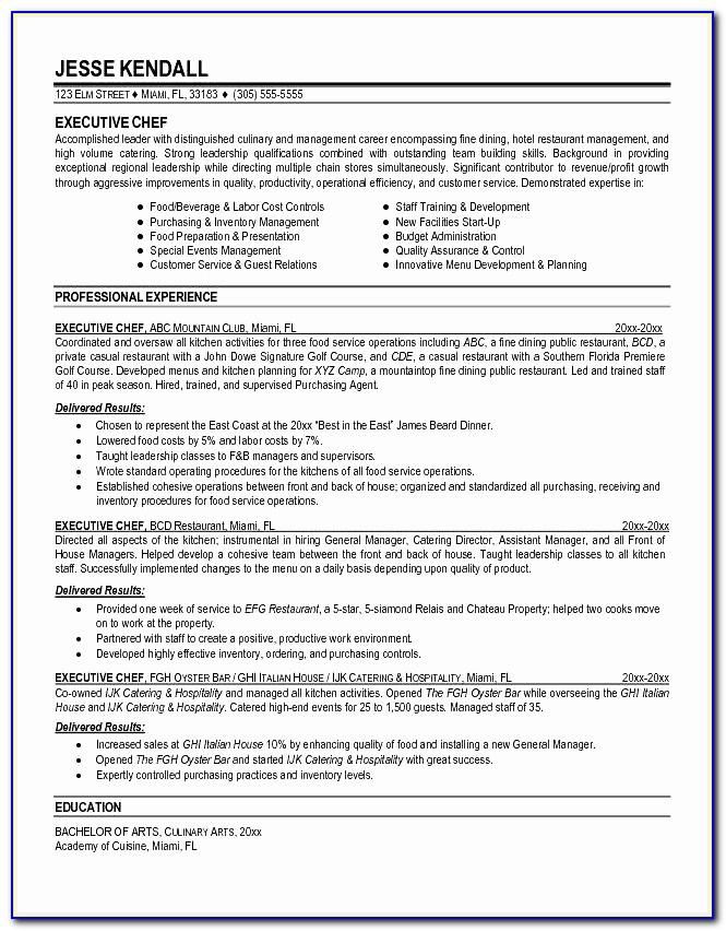 Resume Format Sample With No Work Experience