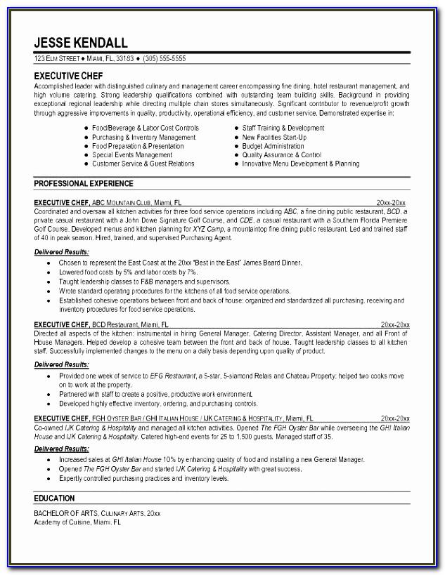 Resume Microsoft Word 2013
