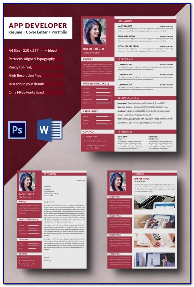 Resume Outline Template For Word