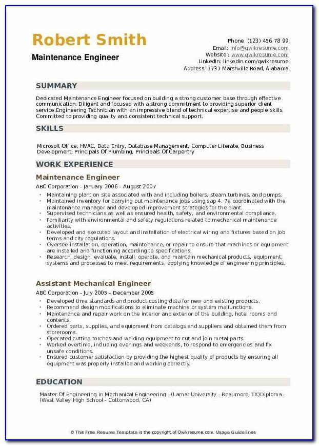 Resume Sample Cleaner Jobs