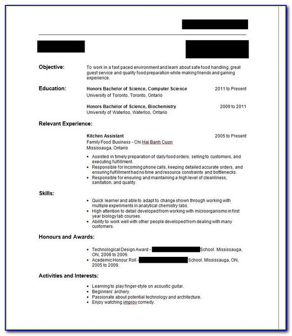 Resume Sample For Electrician Helper