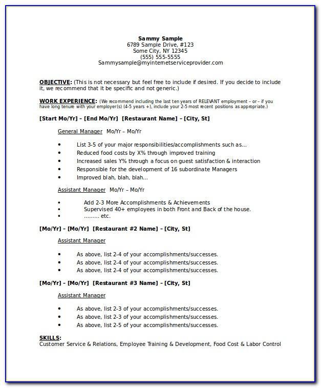 Resume Sample For Medical Assistant Internship