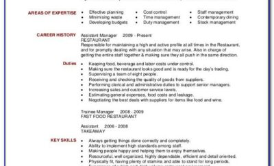 Resume Sample For Nursing Aide