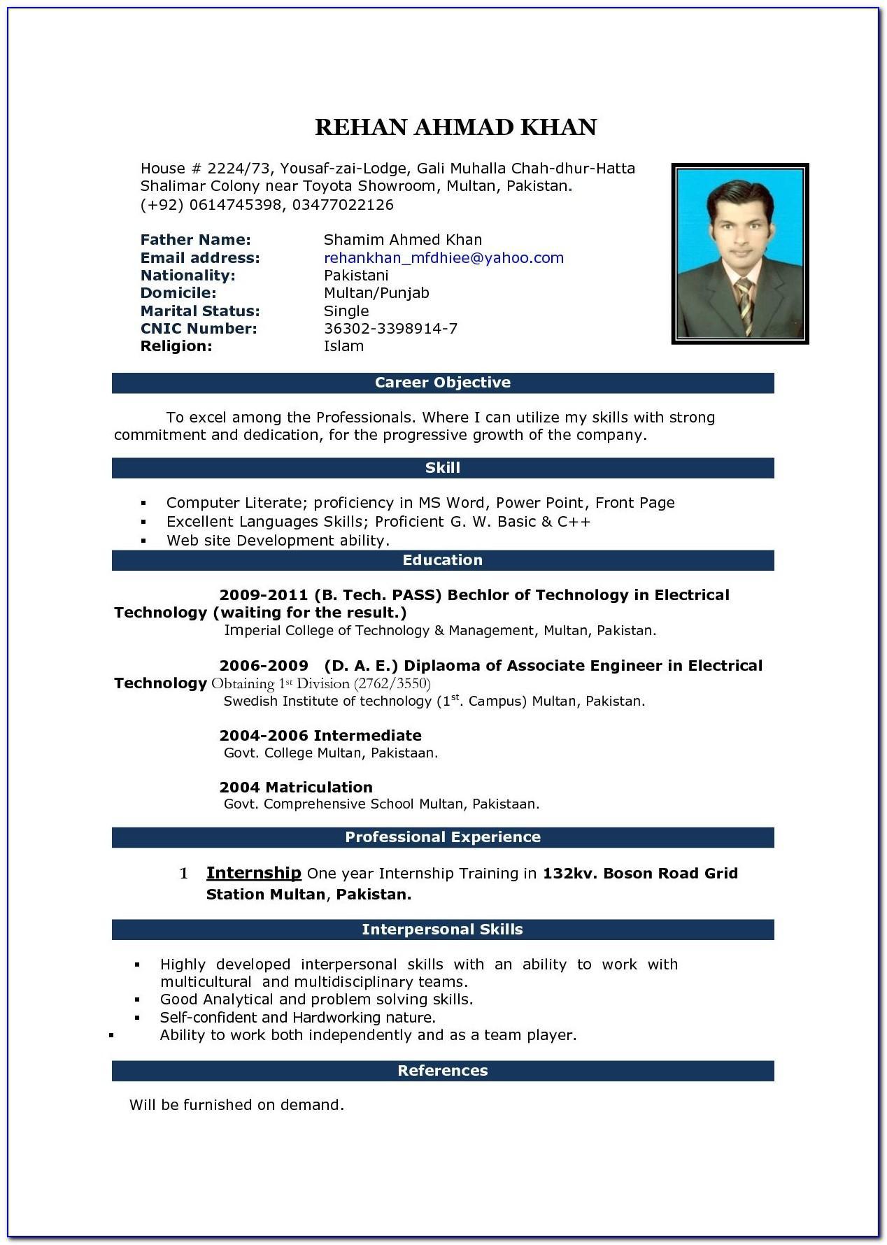 Resume Sample For Retail Sales Job