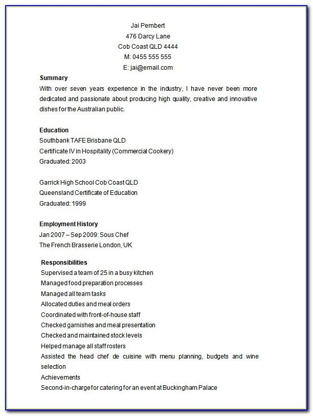 Resume Sample Templates Microsoft Word 2007