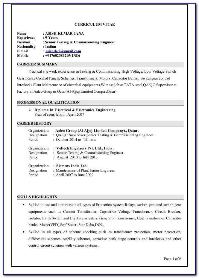 Resume Samples For Bank Customer Service Representative