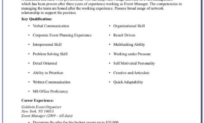 Resume Samples For Cna Jobs