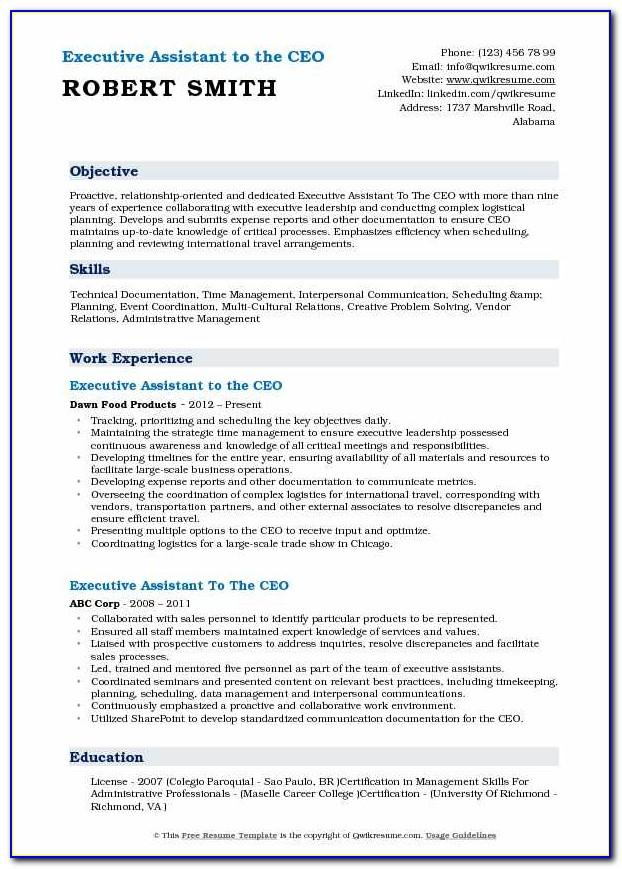 Resume Samples For Electricians Maintenance