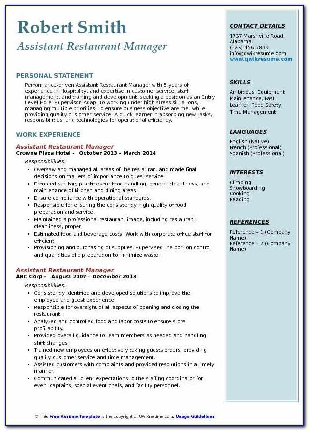 Resume Samples For Nursing Assistant