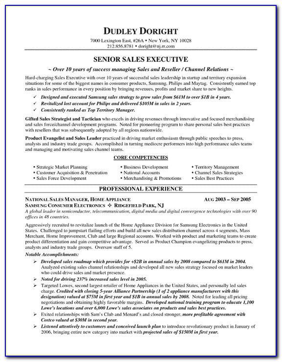 Resume Template For Jewelry Sales Associate