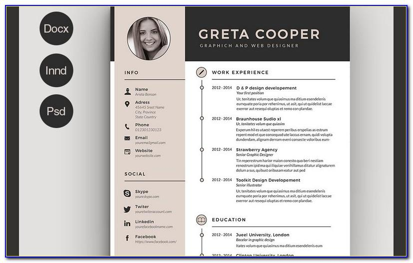 Resume Template Free Download For Mac